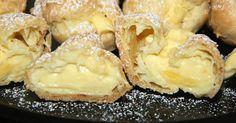 Finally, a recipe for cream puffs, easy to make!- Finally, a recipe for cream puffs, easy to make! – Desserts – My Fork Healthy Dessert Recipes, Baking Recipes, Cookie Recipes, Snack Recipes, Slovak Recipes, Czech Recipes, Czech Desserts, Homemade Chicken And Dumplings, Cream Puff Recipe
