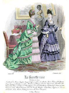 Edwardian Fashion, Vintage Fashion, 19th Century Fashion, Fashion Cover, Belle Epoque, Fashion Plates, Costumes, Costume Ideas, Victorian Era
