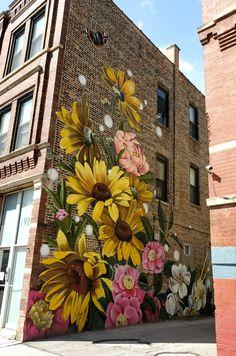 Tag Street Art, Urban Street Art, Murals Street Art, Urban Graffiti, Graffiti Wall Art, Street Art Graffiti, Mural Painting, Mural Art, Wall Mural