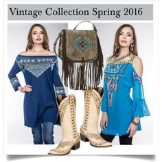 SHOP - Cowgirl Kim Unique Western Chic by cowgirlkim on Polyvore featuring Vintage Collection, women's clothing, women's fashion, women, female, woman, misses and juniors