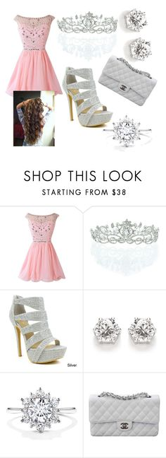 """Princess sparkles"" by luckylover0801 ❤ liked on Polyvore featuring Kate Marie, Celeste and Chanel"
