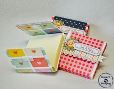 Just a Note Post it note holders *Inspired By Stamping*