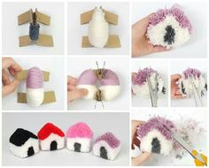 Do you love making crafts? Have you ever wished that you could make money selling your crafts? Pom Pom Crafts, Yarn Crafts, Diy Arts And Crafts, Diy Crafts For Kids, Craft Tutorials, Craft Projects, Pom Pom Animals, Pom Pom Rug, Creations