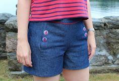 Iris shorts pattern