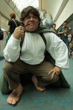 A nice hobbit cosplay