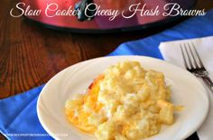 You can find Cheesy Hash Brown Casserole in any Southern cookbook. So, why am I adding a post about Crock Pot Cheesy Hash Brown Casserole?