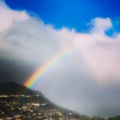 Anuenue (rainbow) spotting! #travel #gohawaii