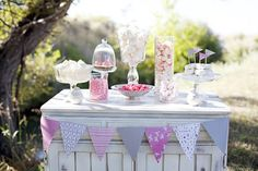 candy table  Adorable!!!