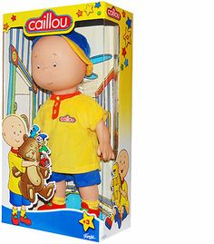 """Caillou Classic 14.5 inch Doll - Imports Dragon - Toys """"R"""" Us"""