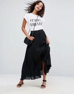 6928102cc Las 160 mejores imágenes de Women's Skirts :: Pleated skirt (Asos ...