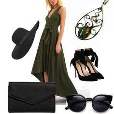 Leto ešte nekončí. Na večernú prechádzku po meste sa môžete zladiť napríklad aj takto. S našim príveskom z achátu machového: http://www.sperkysan.sk/orientalny-privesok-s-achatom-machovym  Outfit with a soldered pendant.
