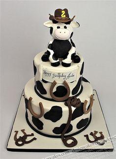 Cowboy theme cake   by Design Cakes