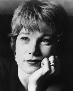 "*SHIRLEY MAC LAINE: has been captivating movie audiences since 1955 when she made her film debut in Alfred Hitchcok's ""The Trouble With Harry."" The spunky redhead was a fixture on movie screens throughout the late 1950's-60's, shining in dramas: ""Some Came running, ""The Children's Hour"", comedies ""The Apartment"", ""Irma la Douce"" + musicals ""Can-Can,"" ""Sweet Charity""."