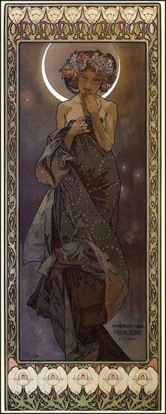 Alfons Mucha - Claire de Lune, 1902