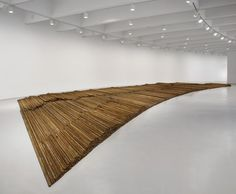 """""""Ai Weiwei: According to What?"""",Ai Weiwei, Straight, 2008–12. Photo: Cathy Carver."""