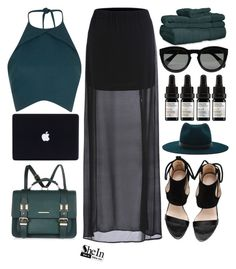 """#Shein"" by credentovideos ❤ liked on Polyvore featuring Rebson, Janessa Leone, River Island, ExceptionalSheets, CÉLINE, Odacité, women's clothing, women's fashion, women and female"