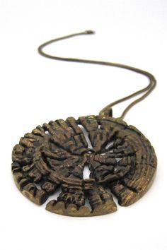 Pentti Sarpaneva, Finland - vintage bronze necklace