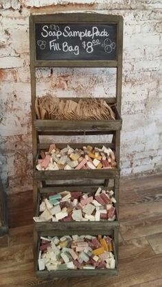 Our naughty bits are out there for anyone to grab! Grab Bag of handmade soap, a you can fit for only $8.  www.bathhousesoap.com