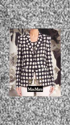 Blazer Price, Floral Blazer, Printed Blazer, International Fashion, S Star, Max Mara, Jacket Dress, Floral Prints, Feminine