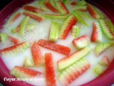 Pureed Food Recipes, Watermelon, Pure Products, Fruit, Diy, Do It Yourself, Bricolage, Handyman Projects, Diys