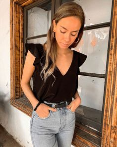 Uni Outfits, Church Outfits, Jean Outfits, Summer Outfits, Casual Outfits, Fashion Outfits, Fashion Beauty, Girl Fashion, Womens Fashion