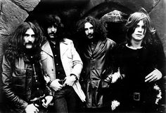 black sabbath circa 1970. i wonder if these guys had any idea at the time what they were onto musically?