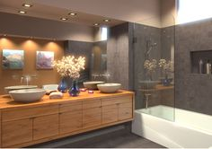 Shower Screens The Sleek Alternative To Shower Cu