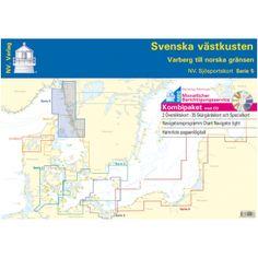 NV-Charts Serie 5: Schwedische Westkste - Svenska vstkusten - £89
