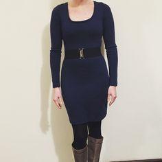 Wool ponte Nettie Dress by @kyrajclarke