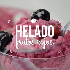 For hot days, go ahead and prepare a delicious yogurt and red fruit ice cream with a touch of condensed milk, to share with the family! Sweet Recipes, Snack Recipes, Dessert Recipes, Cooking Recipes, Oven Cooking, Cooking Games, Pressure Cooking, Cooking Okra, Cooking Rhubarb