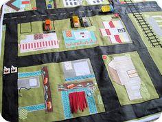 A very cute playmat