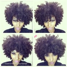 I'm trying so hard to be patient for my lil baby fro to get to this length!!! Love it!!!