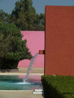 San Cristobal Stables. 1967. Mexico City. Luis Barragan