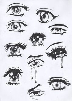 Easy Anime Drawing Eyes - Easy Anime Eyes To Draw Girl Anime Hair Sketches Drawings Easy Drawing Manga Eyes Part Ii Risovat Glaza Risovanie Glaza How To Draw Anime Eyes Step By. Drawing Eyes, Drawing Sketches, Painting & Drawing, Drawings Of Eyes, Cartoon Drawings, Pencil Drawings, Female Drawing, Mouth Drawing Easy, Sketches Of Eyes