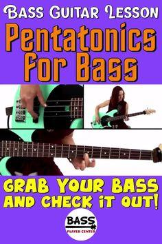 Bass Guitar Scales, Play Guitar Chords, Learn Guitar Chords, Bass Guitar Lessons, Guitar Lessons For Beginners, Guitar Songs, Bass Guitars, Teach Yourself Guitar, Guitar Exercises