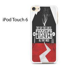 If I'm James Dean You're Audrey Hepburn Ipod Touch 6 Case
