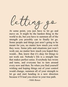 Letting Go Quotes Moving On Change Growth Inspiration Nikki Banas Walk the Earth Poetry Letting Go Quotes, Go For It Quotes, Self Love Quotes, Be Yourself Quotes, Self Healing Quotes, You Are Strong Quotes, New Start Quotes, You Are Enough Quote, Self Reflection Quotes
