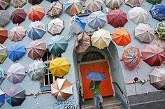 Public Art Installation - Umbrellas