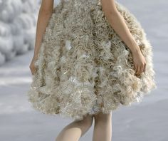 Details: Chanel, Haute Couture Spring/Summer 2008.