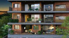 Edifício Mirá. Isay Weinfeld assina projeto de edifício residencial rotacionado em Pinheiros, em São Paulo :: aU - Arquitetura e Urbanismo. São Paulo, Brasil.