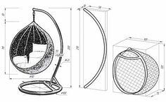 Садовые качели из металла своими руками - чертежи и инструкция