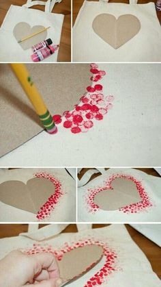 DIY • Do It Yourself • heart • Valentines day • gift for dad / father or mom/ mum / mother