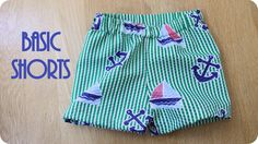 Basic Shorts Tutorial - Peek-a-Boo Pattern Shop: The Blog