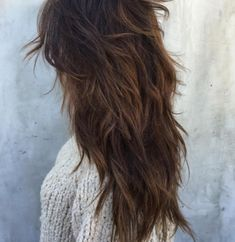 40 Long Shag Haircuts for Absolutely Gorgeous Looks – Page 3 – BelleTag Hair 40 Long Shag Haircuts for Absolutely Gorgeous Looks Haircuts For Long Hair With Layers, Medium Length Hair Cuts With Layers, Long Layered Haircuts, Haircut For Thick Hair, Long Hair With Bangs, Long Hair Cuts, Straight Hairstyles, Layered Hairstyles, Wedding Hairstyles