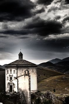 Rocca Calascio Abruzzo Italia