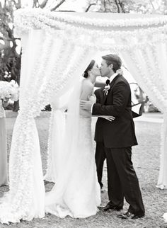Orchid chuppah, love. Photography by lizbanfield.com, Wedding Planning   Design by taraguerardsoiree.com
