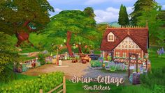 Sims 4 CC's - The Best: Briar Cottage by Sim Pickens
