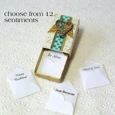 matchbox upcycled - love this idea
