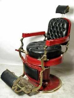 Vintage Barber Chair HELLA COOL
