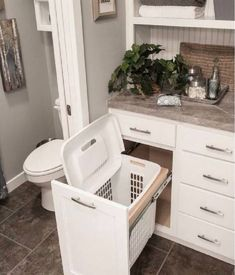 You are going to love these absolutely ingenious ideas and DIYs for bathroom.You are going to love these absolutely ingenious ideas and DIYs for bathroom organization and storage to help you create the most organized bathro. Bathroom Organization, Bathroom Renos, Trendy Bathroom, Bathroom Remodel Master, Bathroom Makeover, Simple Bathroom, Bathroom Decor, Bathroom Renovation, Bathroom Inspiration